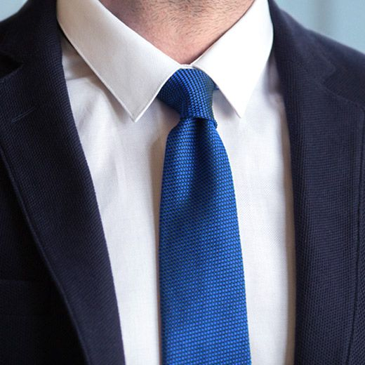 Grenadine silk ties