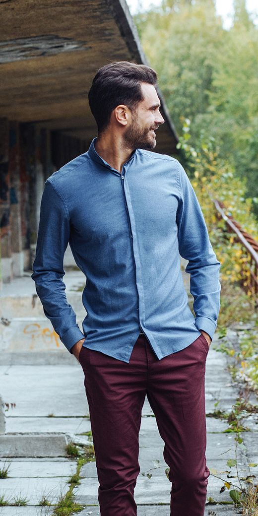 Slim fit shirts, regular fit shirts